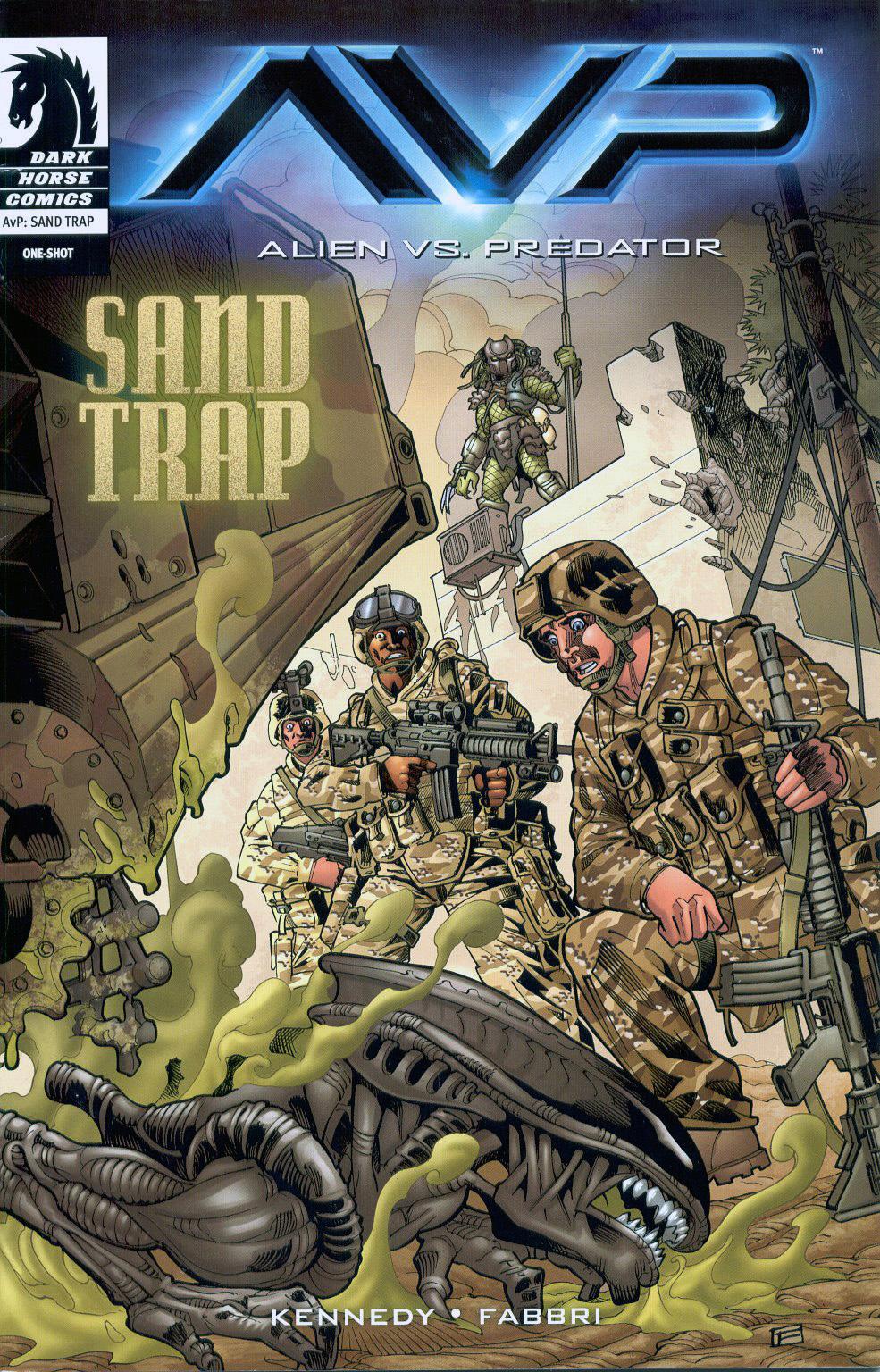 Alien vs. Predator: Sand TrapFan Feed