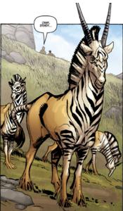 Zebragazelles