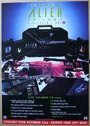 Alien Trilogy Facehugger Set Poster