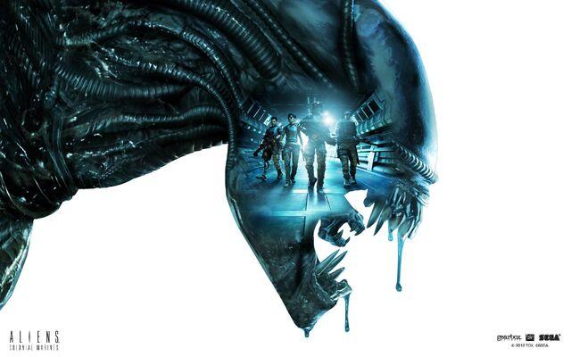File:Aliens Colonial Marines wallpaper.jpg