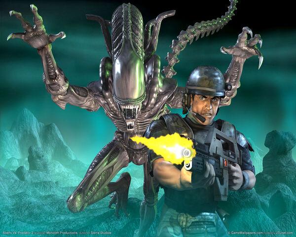 File:Aliens versus Predador 2 Parede Papel 1.jpg
