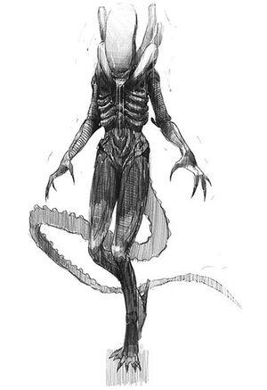 Sevastopol Alien concept art