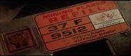 Mining flare label