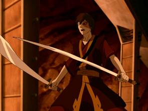 Zuko with his swords.png