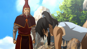 Fire Sages and Korra
