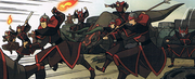 Fire Nation attack at Yu Dao