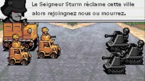 Advance Wars 2, Le reigne de Sturm