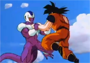 Goku Fighting Against Cooler