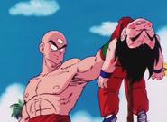 Goku Being Beaten by Tien