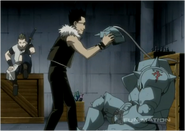 Alphonse Being Examined by Greed