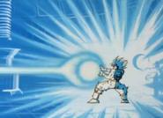 Goku Training While Headed to Namek