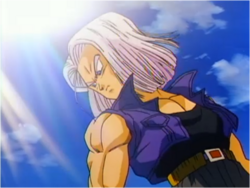 Future Trunks in Bojack Unbound
