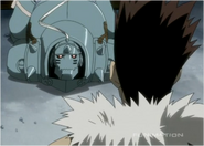 Greed Shows Al that he can Regenerate