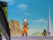Goku Facing Cell's Multiform