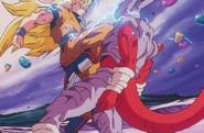 Goku Fights Janemba While Super Saiyan 3