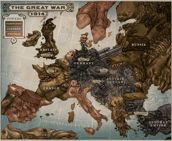 File:Caricature Map of Europe 1914 by Keithwormwood.jpg