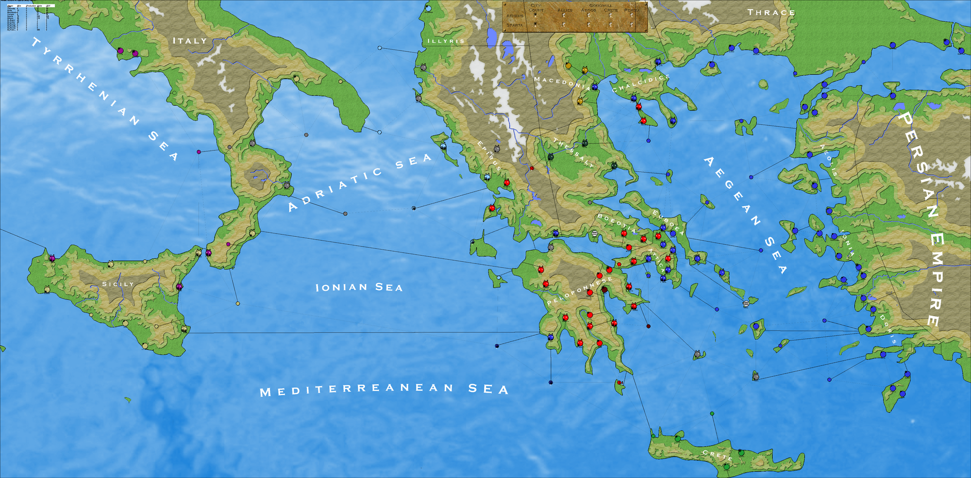 Sparta Map Map Of Sparta Greece Px Cleomenes War Detail Map Of - Map of the distance between athens sparta and the us