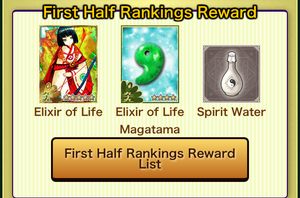 HazyMoon FirstRanking rewards