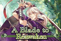A blade to reawaken poster