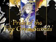 Pride of the Five Great Swords Banner