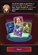 New tutorial summon stuff