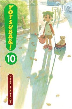 Yotsuba&! Manga Volume 10 en new