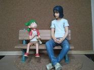 Yotsuba Koiwai bench figures