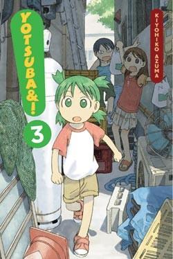 Yotsuba&! Manga Volume 03 en