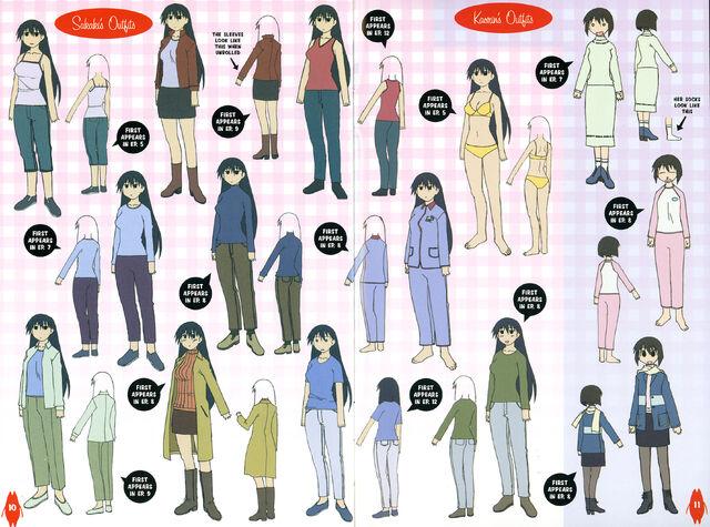 File:Sakaki and Kaorin Outfits.jpg