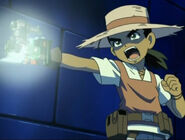 Kaito aiming