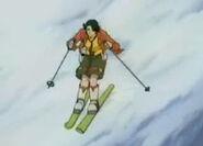 Jou skiing
