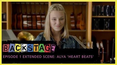 "Backstage Extended Scene - Alya ""Heart Beats"""