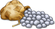 Sack of Pebbles