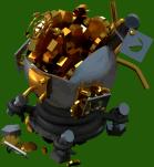 Monster Locker Damaged 3