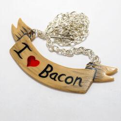 I love bacon neck