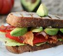 BAT Sandwich (Bacon Avocado Tomato)