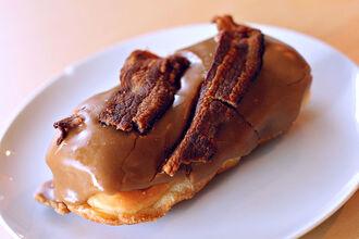 800px-Bacon donut