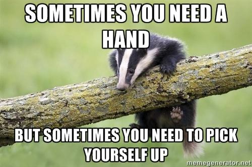 File:Small Helpless Badger Meme.jpg