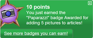 Paparazzi (earned)