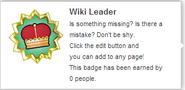 Wiki Leader (req hover)