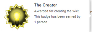 The Creator (earned hover)