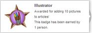 Illustrator (earned hover)