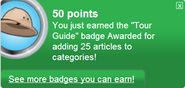 Tour Guide (earned)