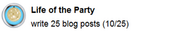 Life of the Party (sidebar)