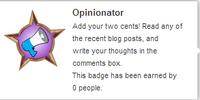 Opinionator