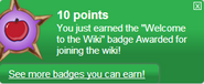 Welcome to the Wiki (earned)