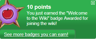 Fichier:Welcome to the Wiki (earned).png
