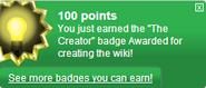 The Creator (earned)