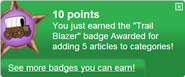 Trail Blazer (earned)