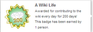 A Wiki Life (earned hover)